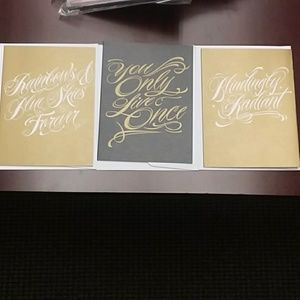 3 pack of sweet and salty birthday cards